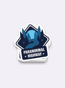 Paranormal highway single sticker