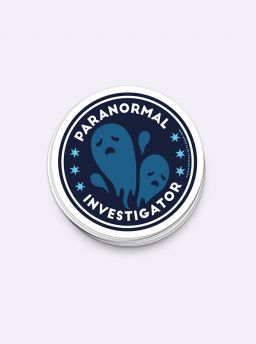Paranormal investigator single sticker