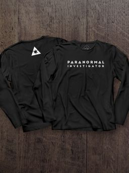Paranormal investigator long sleeves shirt